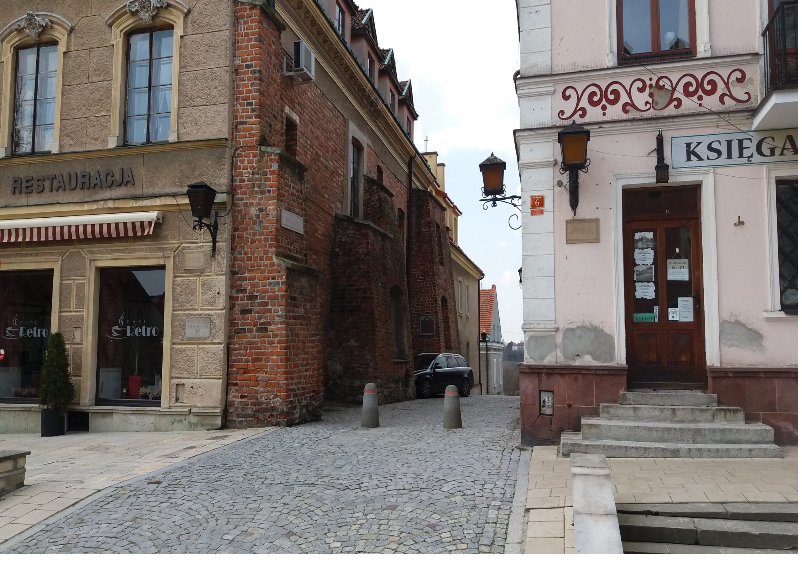 low cost accommodation at the historical sites of Poland