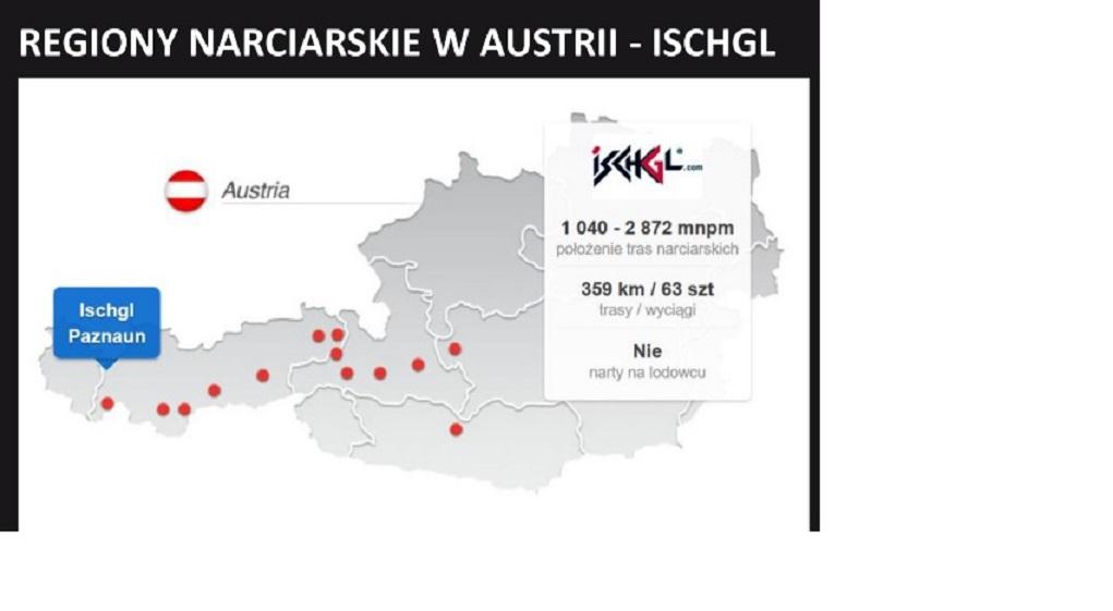 stacje narciarskie Ischgl mapka