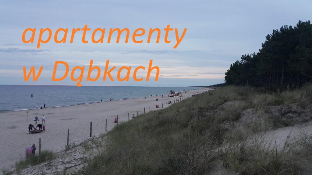 apartementy wakacyjne Dąbki rezerwacja online