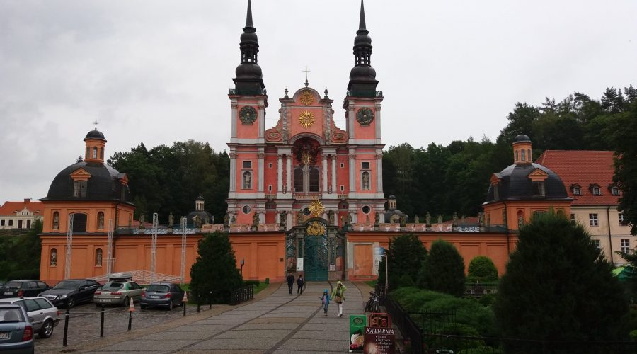 baroque church in the Mazurian town of Swieta Lipka is very famous for its monumental organs