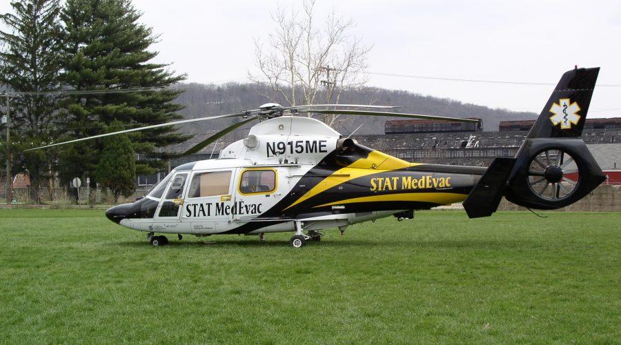 medyczny helikopter EC 155 B1