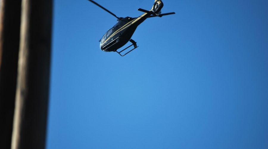 helikopter Eurocopter EC wlocie