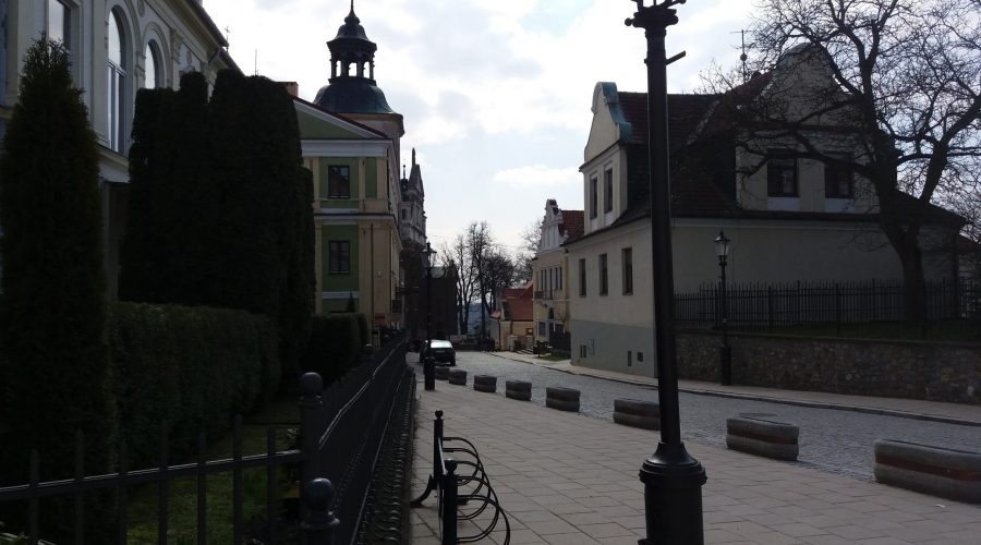 a stroll through the old town of Sandomierz during the weekend trip