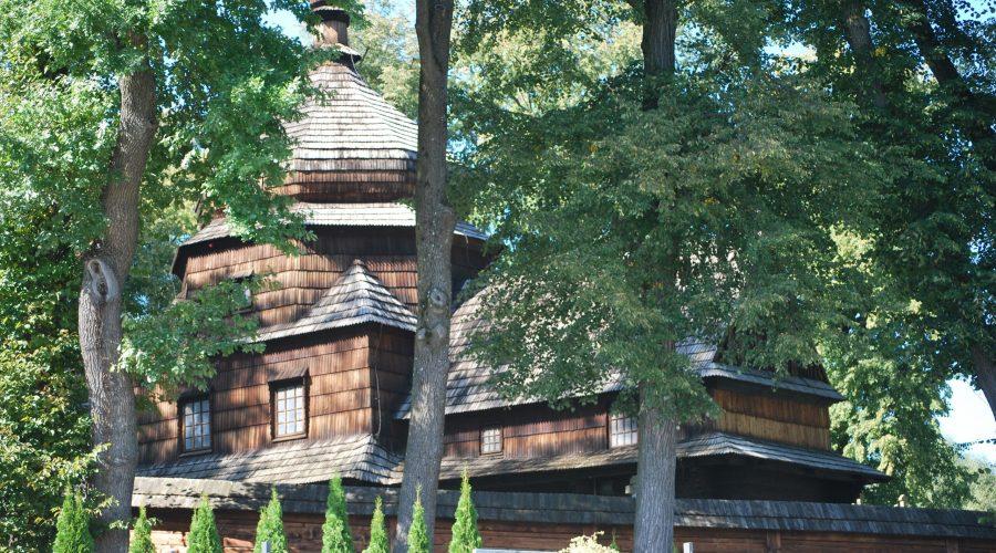 orthodox church of the Transfiguration in Czetez in the Polish Sub-Carpatia region near tocity of Rzeszow