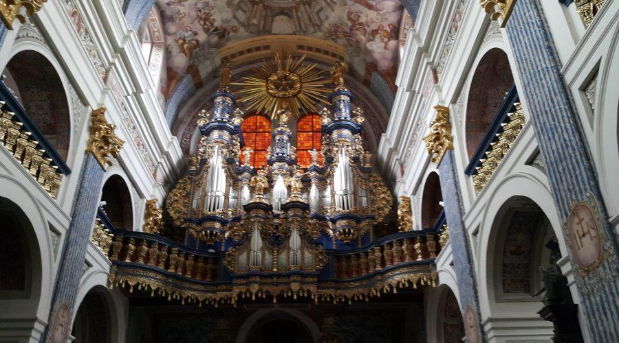 the famous Swieta Lipka organs in the Mazurian sanctuary