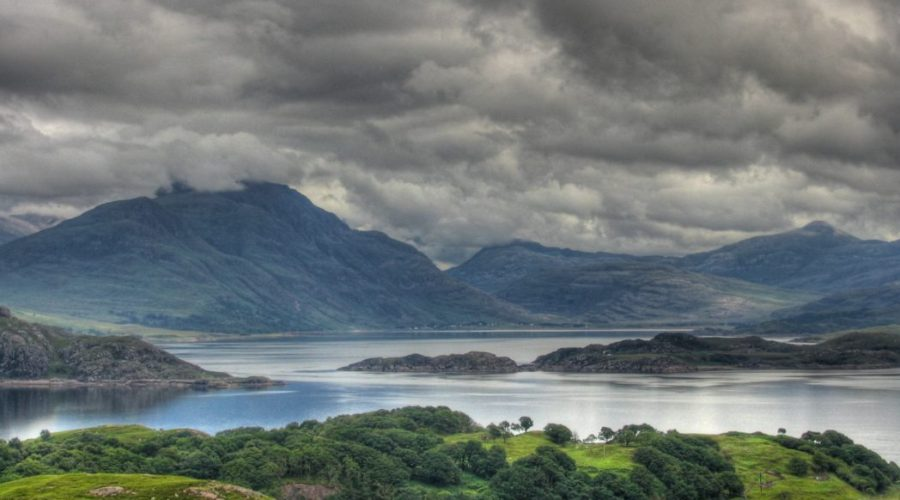 krajobraz Szkocji