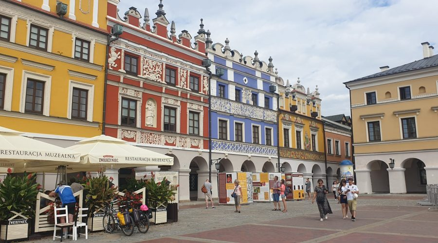 Zamosc was our destination point while touring eastern Poland